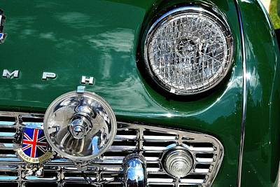 Photograph - Triumph Bling by John Schneider
