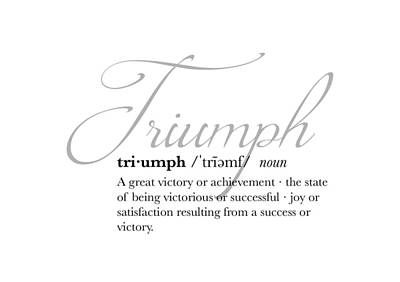 Digital Art - Triumph Definition by Jaime Friedman