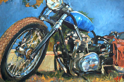 George The Painter Painting - Triumph by George Frizzell