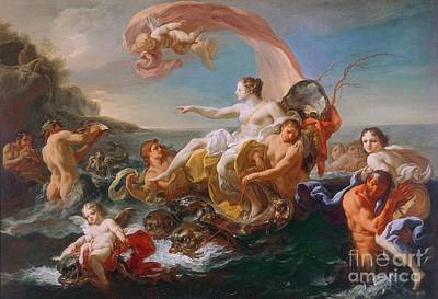 Painting - Triumph Of Galatea by Pg Reproductions