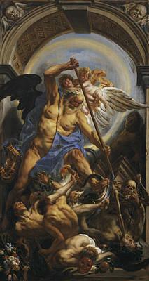 Zeus Painting - Triumph Of Time by Jacob Jordaens