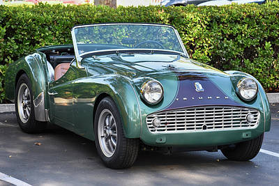 Photograph - Triumph Tr3 by Bill Dutting