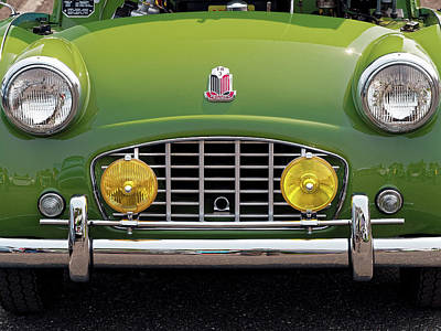 Photograph - Triumph Tr3 by Thomas Hall