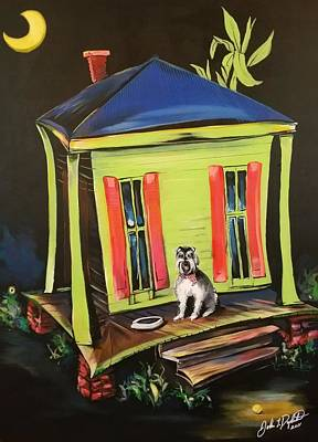 Painting - Trixie's House by John Duplantis