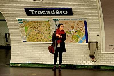 Photograph - Trocadero Metro Station by Eric Tressler