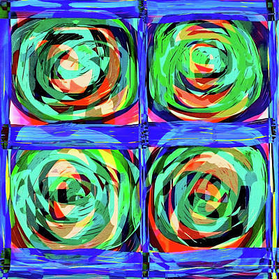 Digital Art - Trois Ans Avant Matisse Et Six Avant Mondrian by Danica Radman