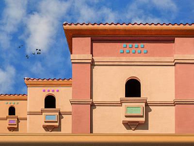 Photograph - Trois Balcons by Paul Wear