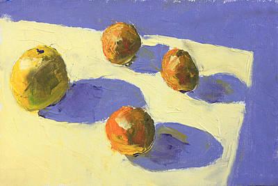 Trois Contre Un Original by David Zimmerman