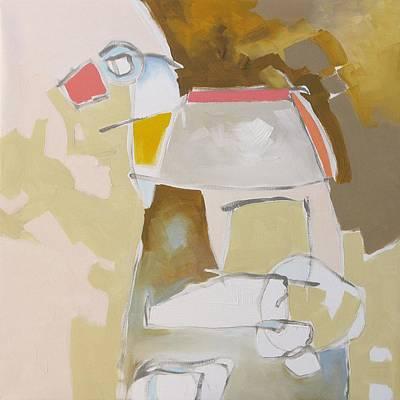 Trojan Horse Original by Linda Monfort