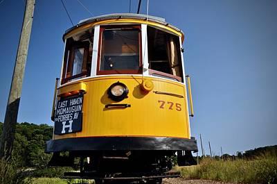 Photograph - Trolley 775- Easthaven by Cornelia DeDona