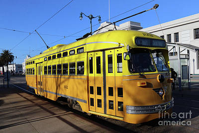 Photograph - Trolley Number 1052 by Steven Spak
