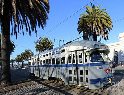 Photograph - Trolley Number 1070 by Steven Spak