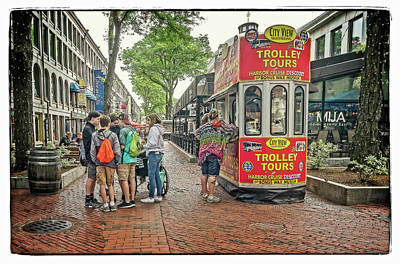 Photograph - Trolly Tours by Jerry Golab