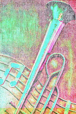 Photograph - Trombone 2 by Pamela Williams