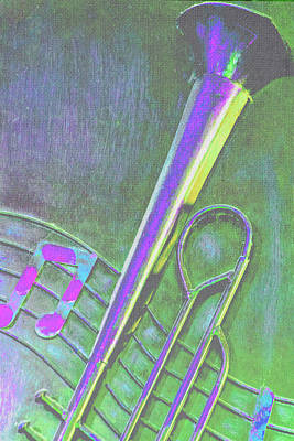 Photograph - Trombone by Pamela Williams
