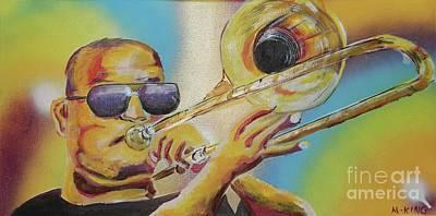 Trombone Shorty Art Print by Kevin King