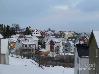 Norway Photograph - Tromso Community by Margaret Brooks