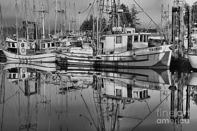 Photograph - Tromso In Black And White by Adam Jewell