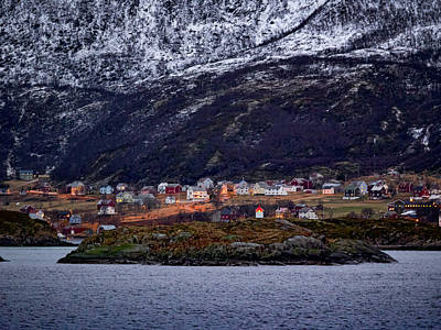 Tromso Lighthouse Art Print
