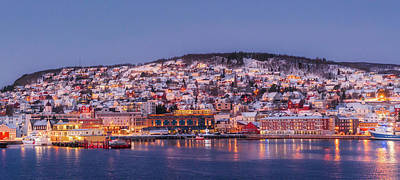 Photograph - Tromso Norway At Sunrise by Michelle Maria