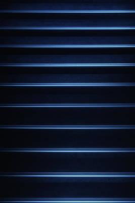 Tron Blue Art Print by Russ Dixon