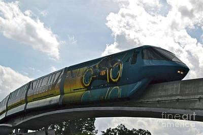 Tron Photograph - Tron Tram by Carol  Bradley