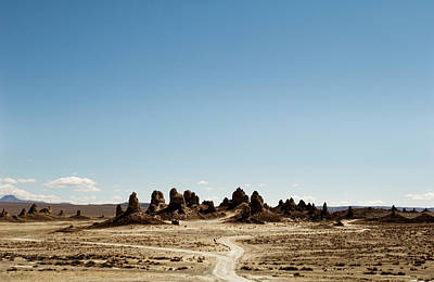 Photograph - Trona Pinnacles Tufa Spires by Amyn Nasser