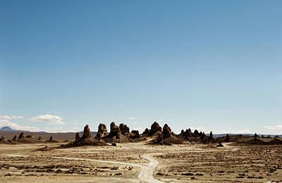 Trona Pinnacles Tufa Spires Original by Amyn Nasser