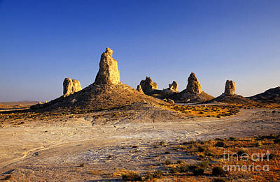 Photograph - Trona Pinnacles, California by Stuart Wilson
