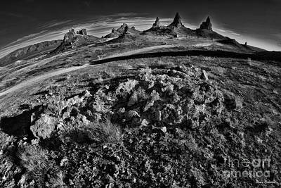 Photograph - Trona Pinnacles Eve by Blake Richards