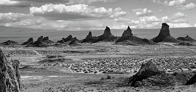 Trona Pinnacles Peaks Art Print