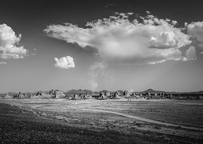 Photograph - Trona Pinnacles Road  by Dusty Wynne