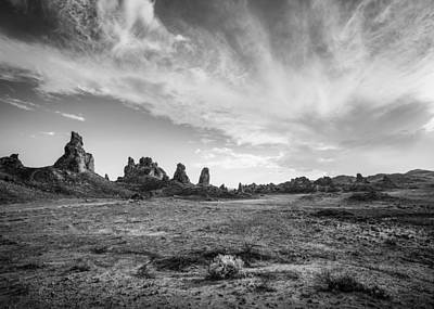 Photograph - Trona Pinnacles Sky by Dusty Wynne