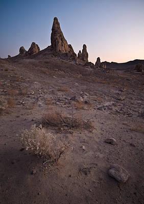 Trona Pinnacles Sunset Original by Steve Gadomski