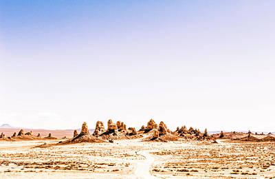 Photograph - Trona Pinnacles Tufa Spires by Amyn Nasser