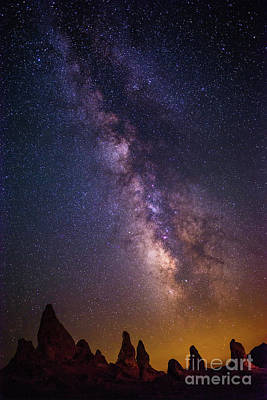 Etherial Photograph - Trona Twilight by Jamie Pham