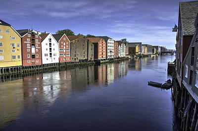 Photograph - Trondheim Norway by Alan Toepfer