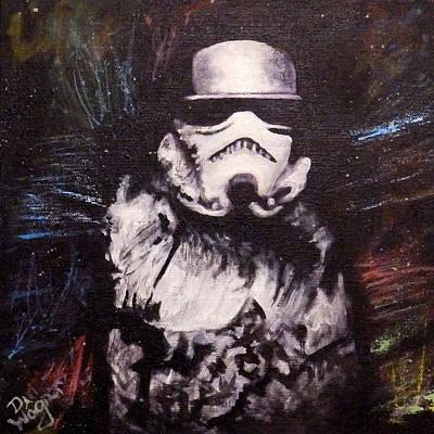 Painting - Trooper  by Dan Wagner