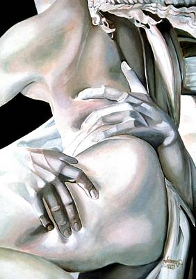 Painting - Trop By Bernini by JoeRay Kelley