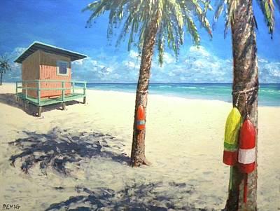 Painting - Tropic Beach by Paul Emig
