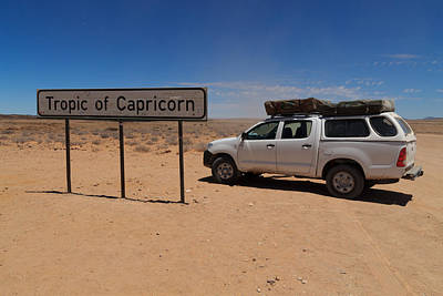 Hardap Region Photograph - Tropic Of Capricorn by Davide Guidolin