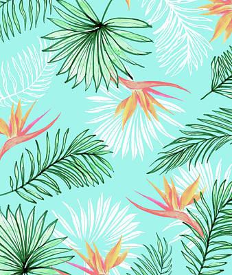Digital Art - Tropic Palm by Uma Gokhale