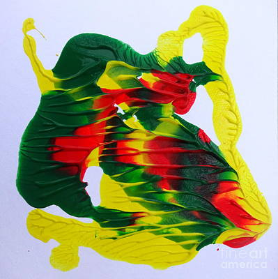 Painting - Tropical # 3 by Fred Wilson