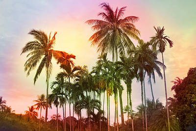 Tropical 11 Art Print by Mark Ashkenazi