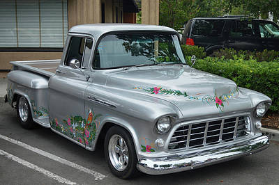 Photograph - Tropical 3100 Chevy by Bill Dutting