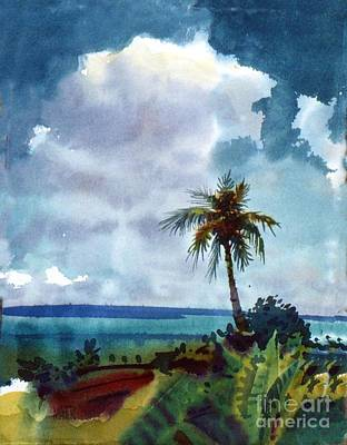 Painting - Tropical Afternoon by Donald Maier