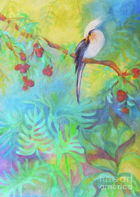 Tropical Afternoon Original by Sharon Nelson-Bianco