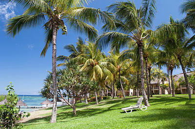 Photograph - Tropical Beach I. Mauritius by Jenny Rainbow