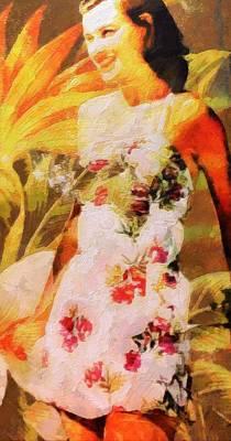 Painting - Tropical Beauty by Lelia DeMello