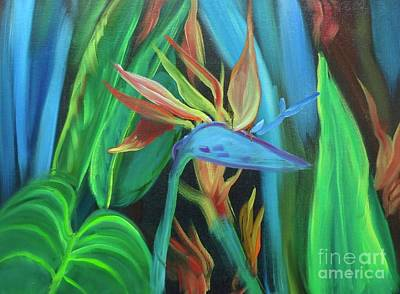 Painting - Tropical Bird by Jenny Lee